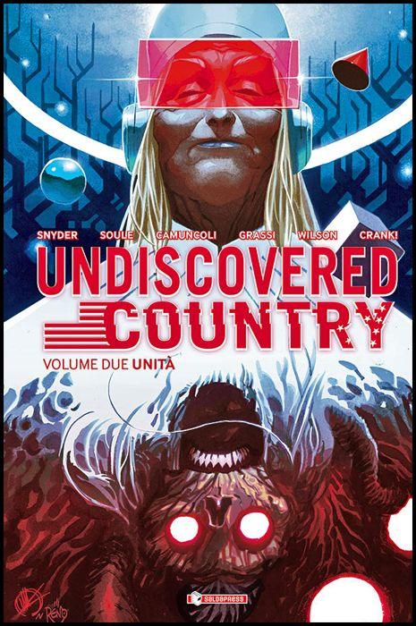 UNDISCOVERED COUNTRY #     2: UNITÀ - VARIANT COVER