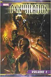 MARVEL CROSSOVER #    44 - ANNIHILATION  1